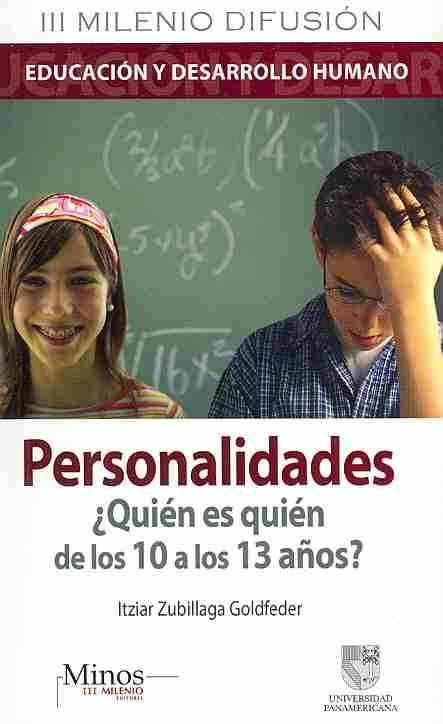 Personalidades/ Personalities By Goldfeder, Itziar Zubillaga